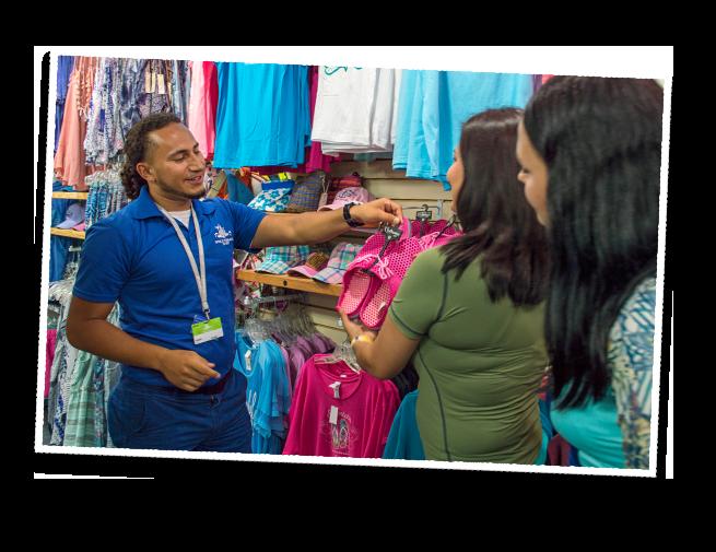 Retail shop associate