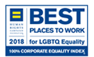 Human Rights Campaign Best Places to Work for LGBT Equality, 100% Corporate Equality Index