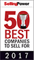 SellingPower's 50 Best Companies to Sell For, #31