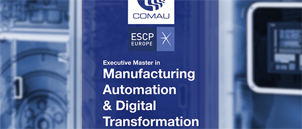 Video: Comau® Executive Master in Manufacturing Automation and Digital Transformation