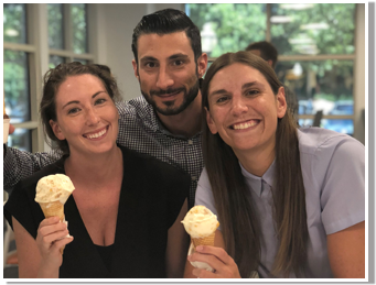 Interns & Ice Cream