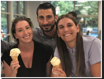 Interns & Ice Cream