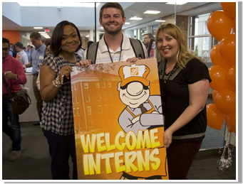 Intern Day Sign