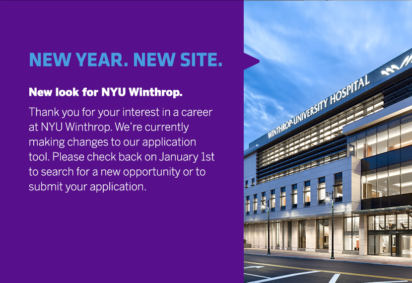 NYU Winthrop Hospital | Careers