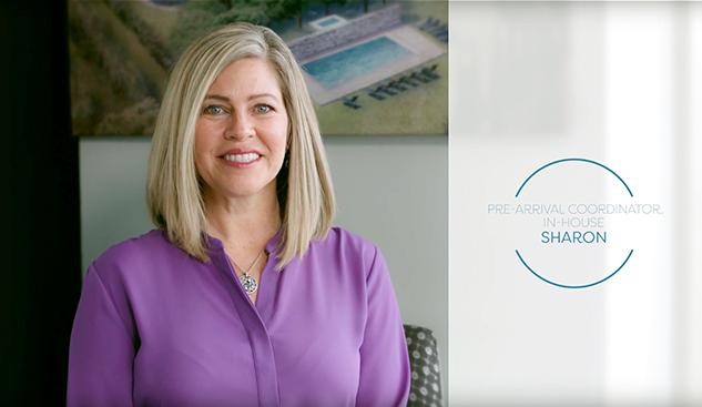 Sharon, Pre-Arrival coordinator