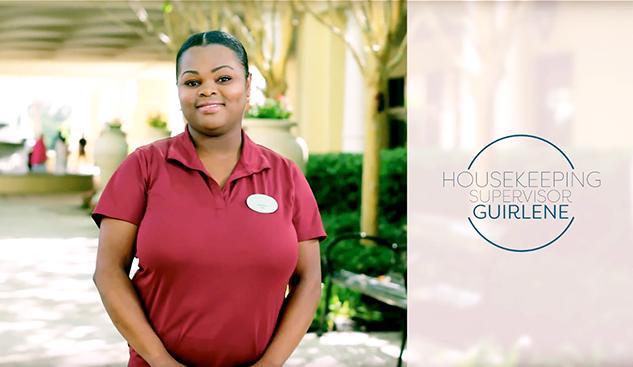 Guirlene, Housekeeping Supervisor