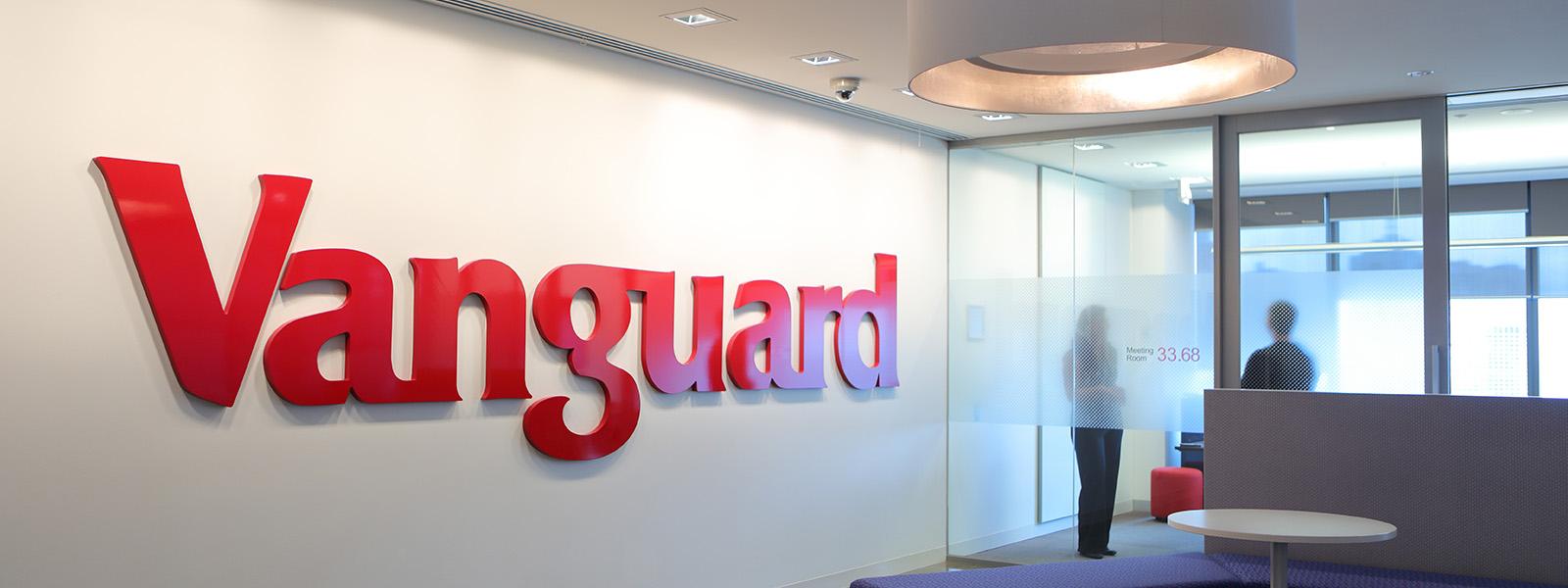 Vanguard signage