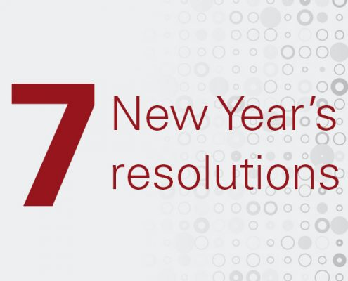 7 New Year's resolutions