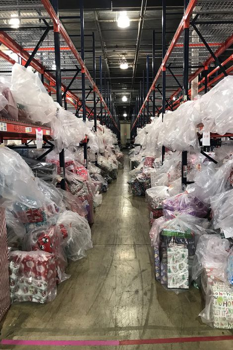 warehouse of gifts