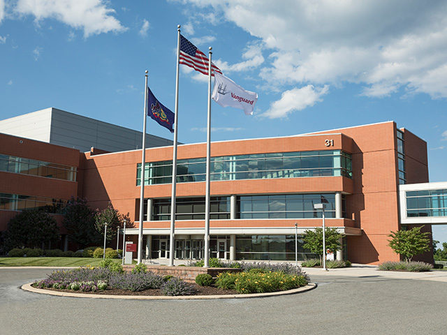 Picture of Vanguard's Orion Building at Malvern, PA campus