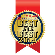 2019 US Veterans Magazine Best of the Best award logo