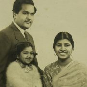 Vanguard technology leader, Abha Kumar, child portrait with family
