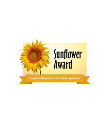 The JPS Sunflower Award for exceptional impact in  the patient experience