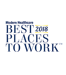 Modern Healthcare Best Places to Work 2018