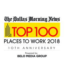 Dallas Morning News Top 100 Places to Work 2018
