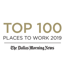Dallas Morning News Top 100 Places to Work 2019