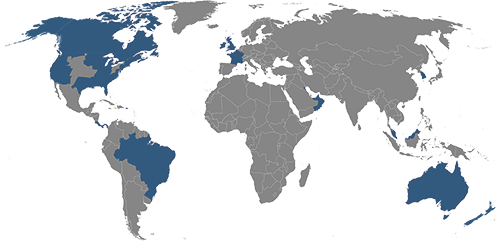 Reyes Holdings Global Territories Map