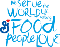 We serve the world and food people love