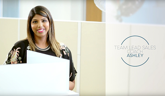 Team Lead Sales Coach: Ashley