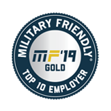 Awards Military friendly top 10 employer