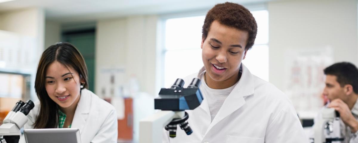 STEM careers students