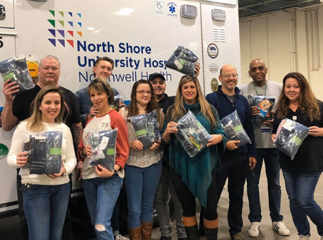 northwell health gives back