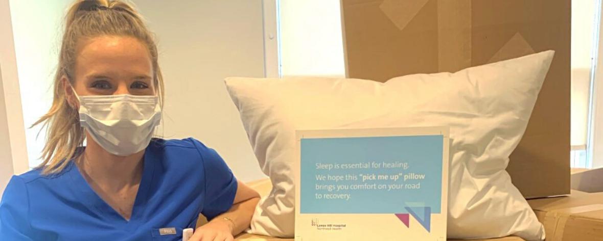 emergency nurse pillow fundraiser