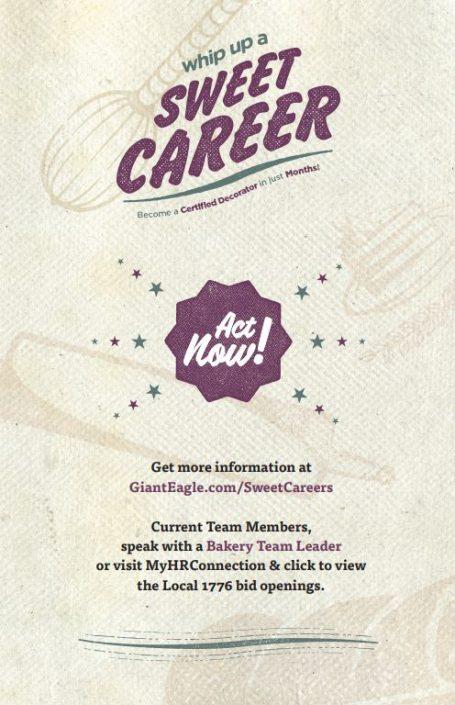 Cake Decorator Apprentice Program Flyer - Page 2