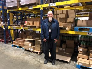 Dean, Distribution Supervisor at Fresh Foods Manufacturing