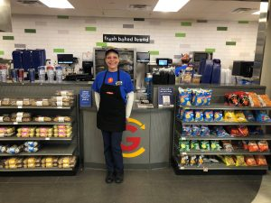 Lynn, Kitchen Lead at the Medina GetGo Cafe + Market