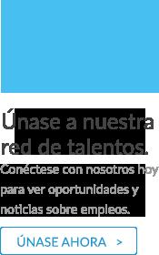 Únete a nuestra comunidad de talentos