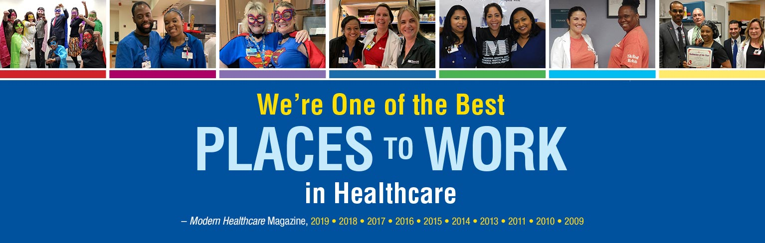 We are one of the best places to work in healthcare image