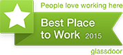 No. 3 on Glassdoor's 2015 Best Places to Work