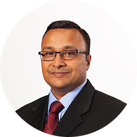 Photo of Navdeep Gupta, SVP, Finance and Chief Accounting Officer