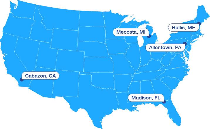 Campus Leadership Map