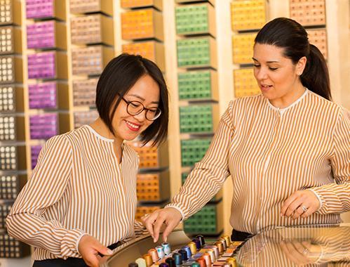 Women working at Nespresso