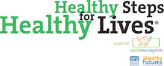 Healthy Steps for Healthy Lives Logo
