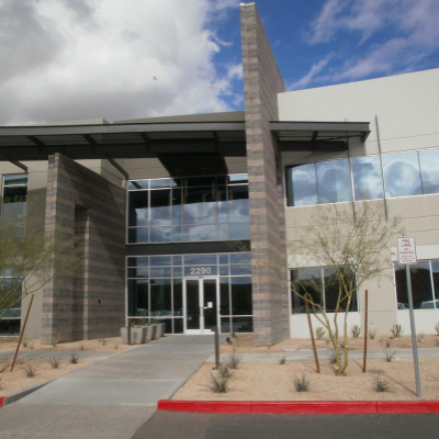 exterior view of Liberty Mutual Candler, AZ office entrance