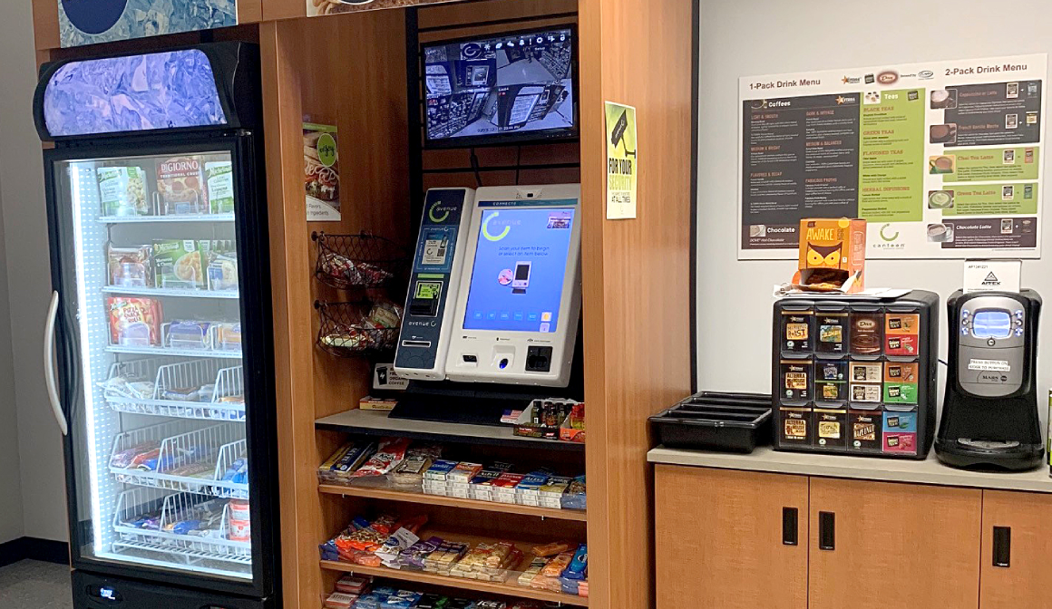 food kiosk area