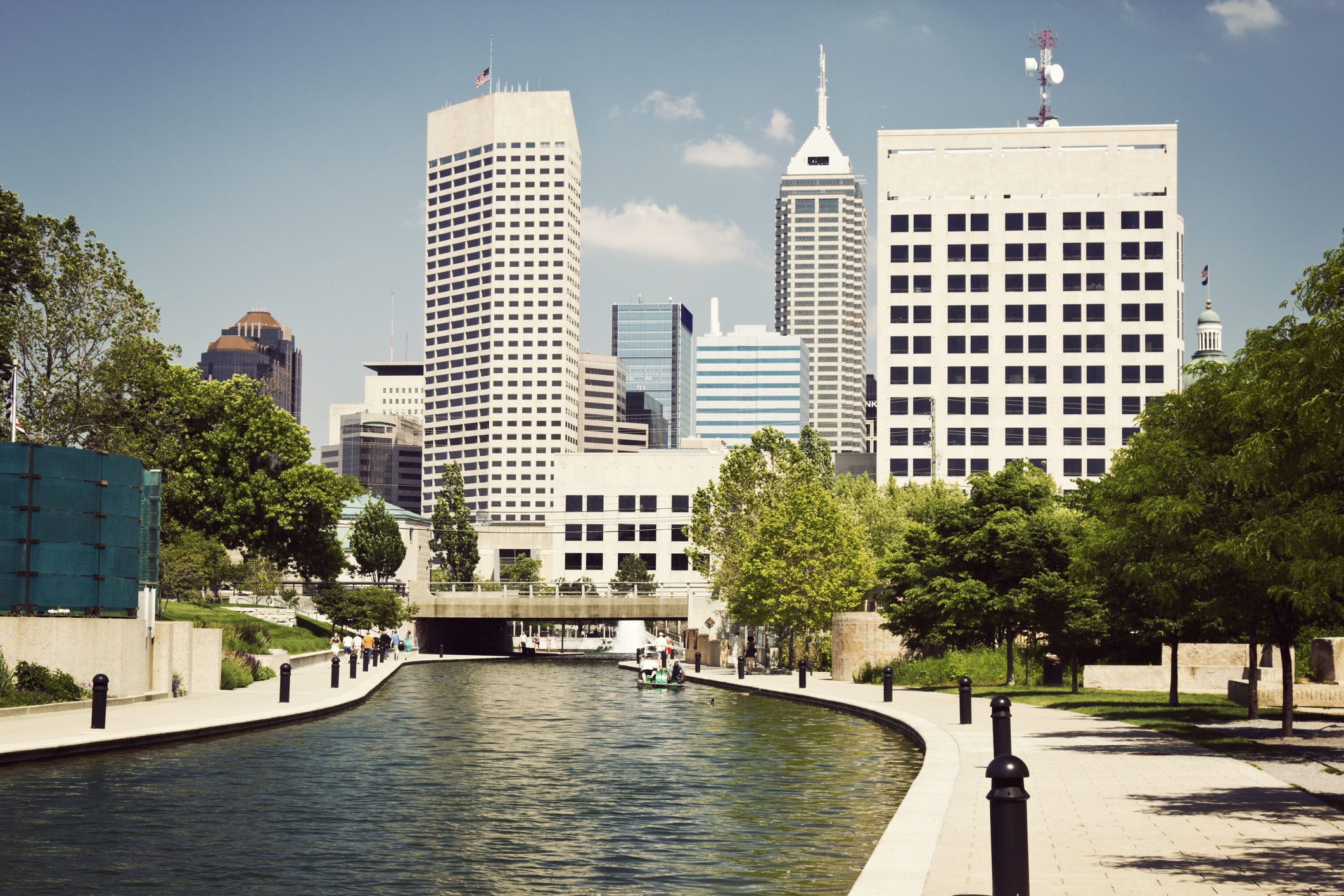 Image of buildings in Indianapolis, Indiana