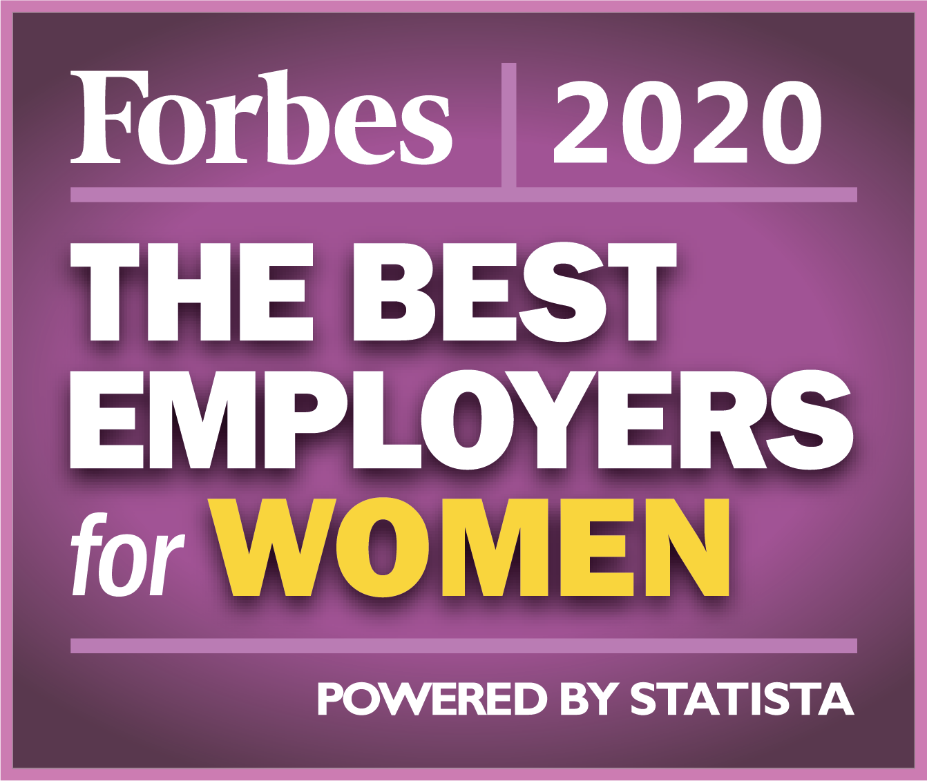2020 Forbes Best Employers for Women