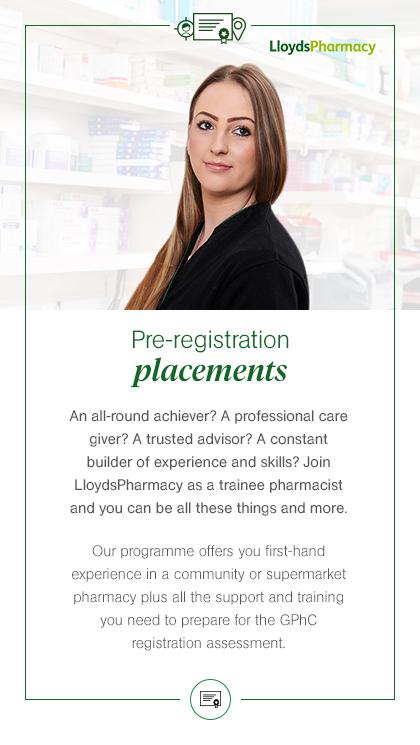 Pre-registration placements
