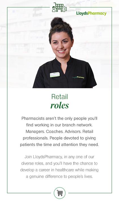 Retail roles