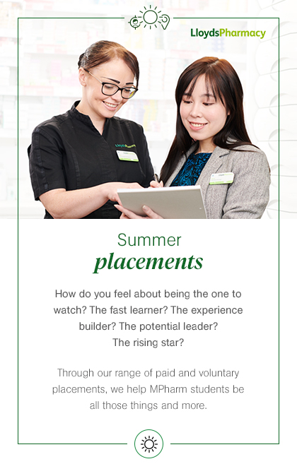 Summer Placements