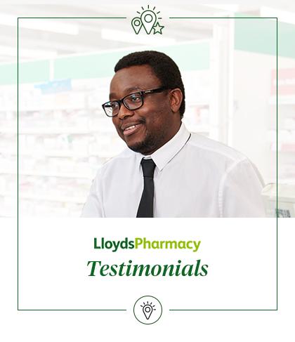 LloydsPharmacy testimonials
