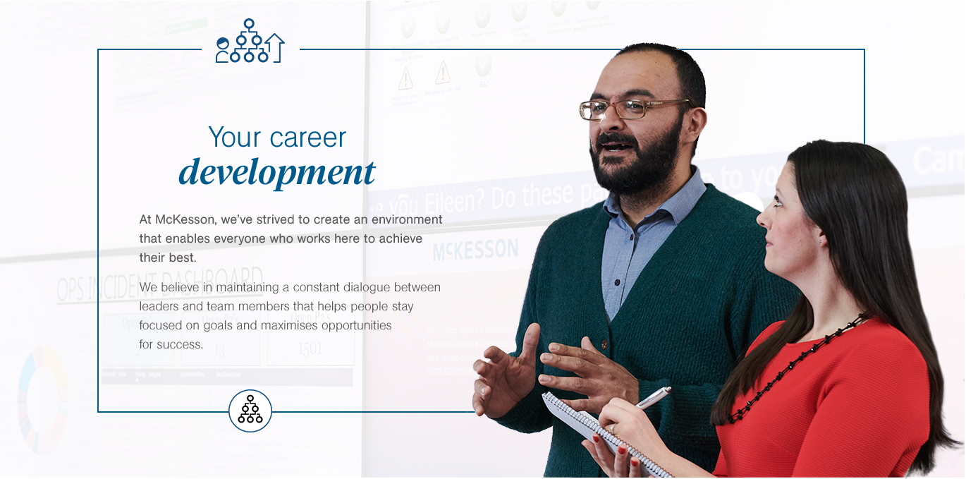 Career development at McKesson