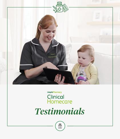 Clinical Homecare Testimonials