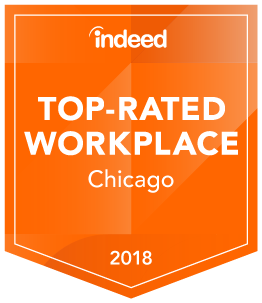 Indeed Top Rated Workplace - Chicago