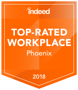 Indeed Top Rated Workplace - Phoenix