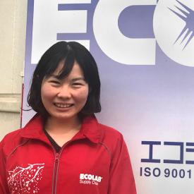 Employee Rena Taketani